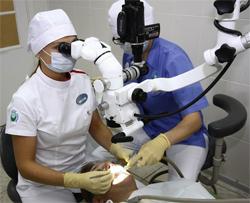 Прогресс в стоматологии: от бормашин с ножным приводом до микроскопа