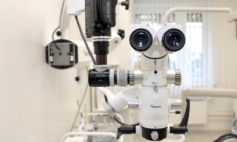Эндодонтическое лечение с применением стоматологического микроскопа Evolution XR6 компании SEILER
