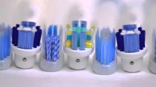 Основные виды и группы зубных щеток