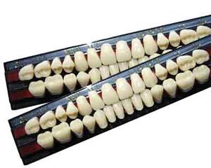 Из каких материалов делают искусственные зубы для зубных протезов?