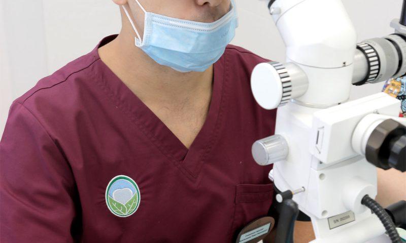 Спец цена на перелечивание зуба под микроскопом при подготовке к протезированию