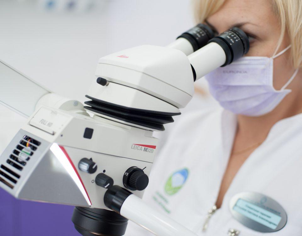 Бесплатная диагностика зубов и спец цена на перелечивание зуба под микроскопом при подготовке к протезированию