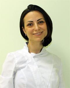Лященко Анна Николаевна, стоматолог-терапевт, кандидат медицинских наук