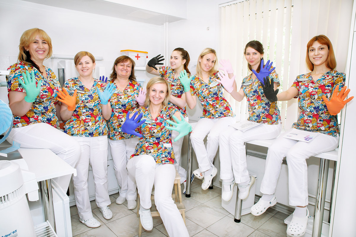 Ассистенты стоматолога в Клинике доктора Осиповой