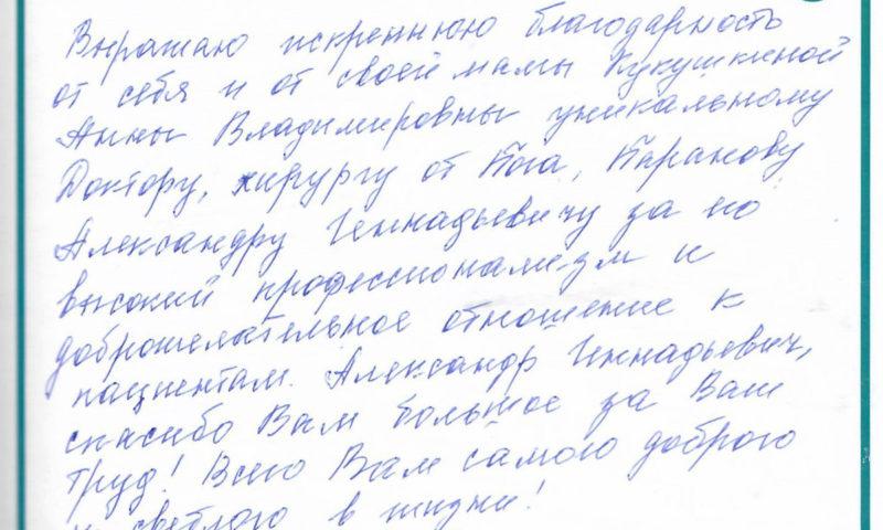 Отзыв о стоматологии 190419 Редькина
