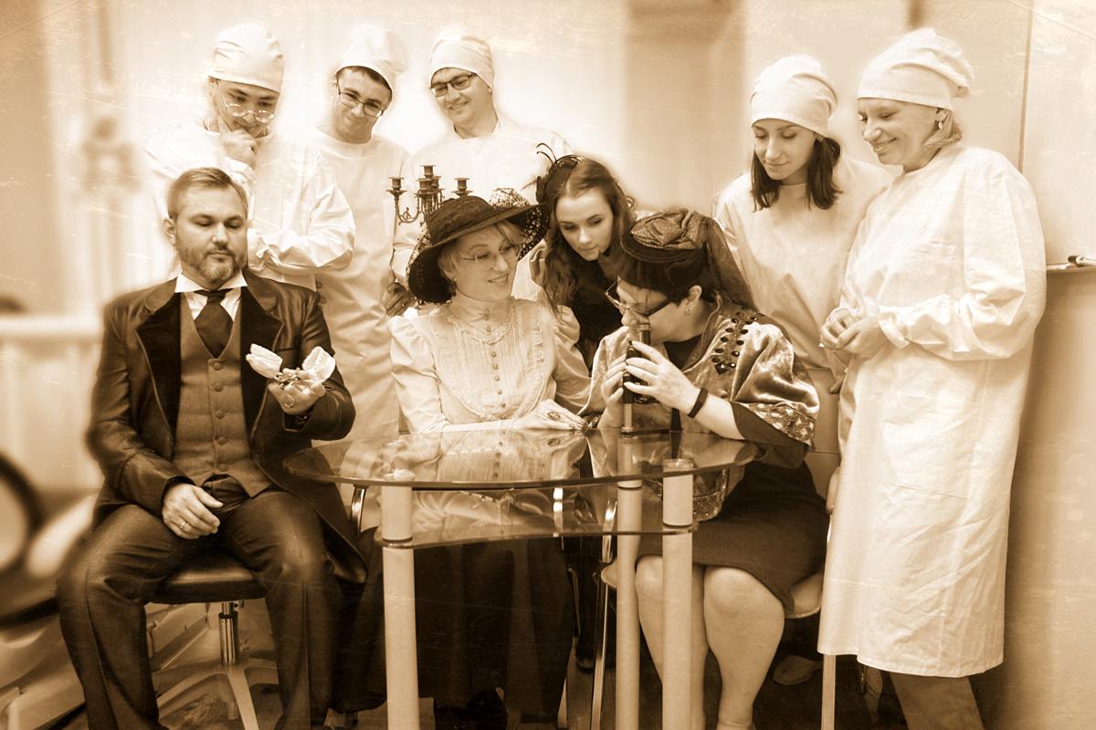 Фото машина времени в стоматологии 5