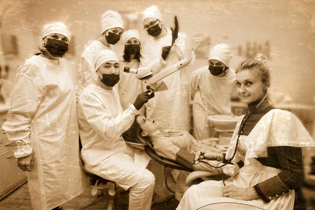 Фото машина времени в стоматологии 7
