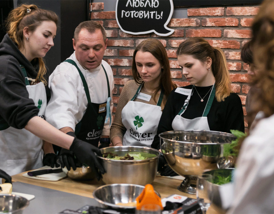 Новогодний кулинарный мастер класс для нашей дружной команды!
