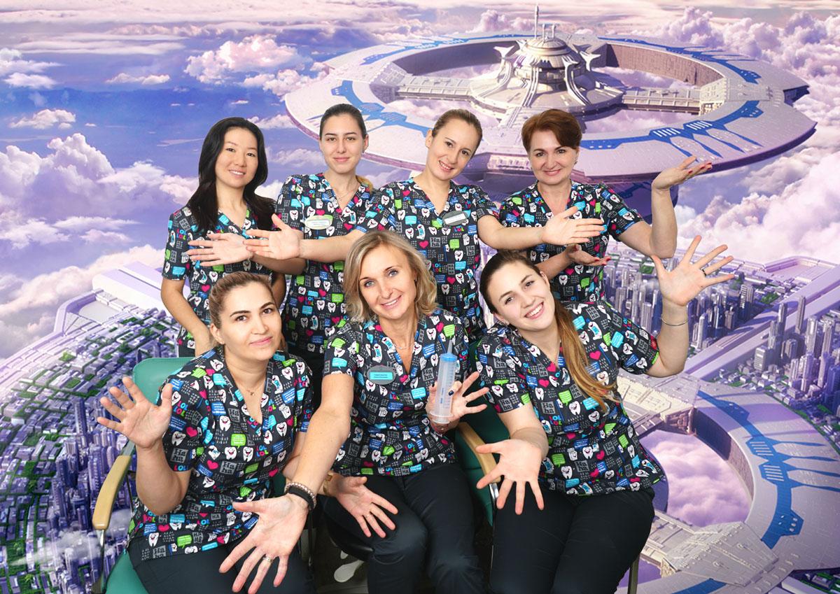 апссистенты стоматологов